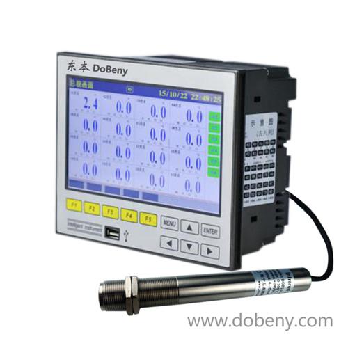非接触式红外温度传感器专用16路彩屏红外温度无纸记录仪IRT-R7100