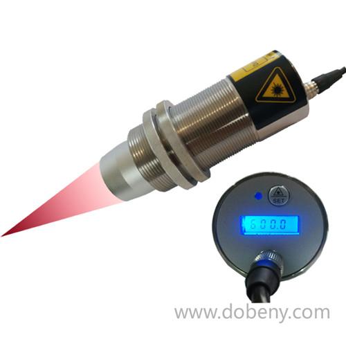 聚焦型同轴同光激光瞄准带LCD显示红外温度传感器